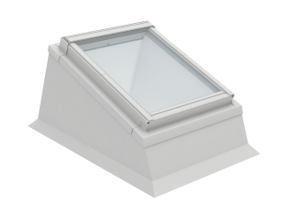 VELUX - ECX SK06 0000T - Insulated kerb for RW installation in flat roof, 0-15 degrees, 114x118