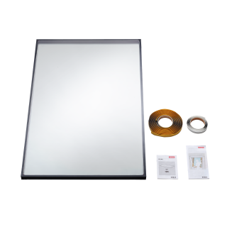 VELUX - IPL SK06 0070 - 24 mm double glazed replacement pane for V22 roof windows, 114x118
